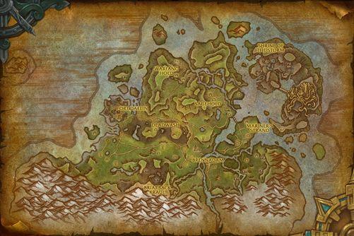 Stormsong Valley map