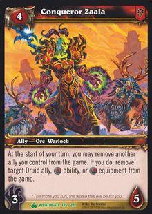 Conqueror Zaala TCG Card.jpg
