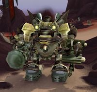 Image of Mecha-Golem