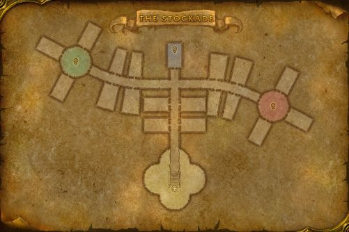 Stormwind Stockade map