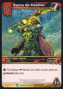 Kaniya the Steadfast TCG Card.jpg