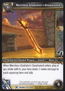 Merciless Gladiator's Greatsword TCG Card.jpg