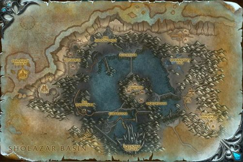 Icecrown map