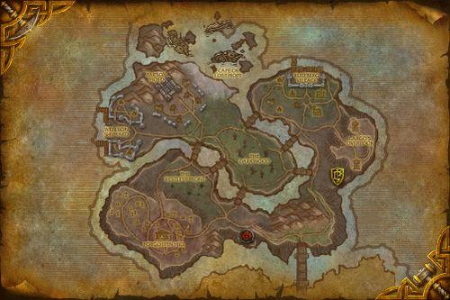 Tol Barad Peninsula map