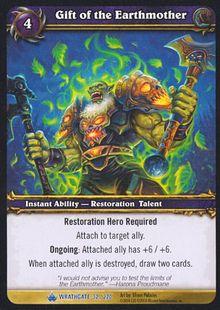 Gift of the Earthmother TCG Card.jpg