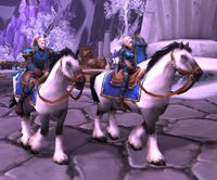 Image of Silver Covenant Horseman