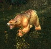 Image of Ferocious Grizzled Bear
