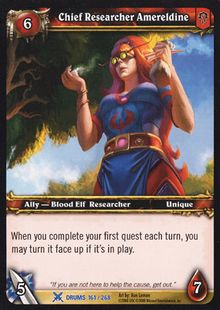 Chief Researcher Amereldine TCG Card.jpg