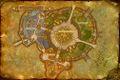 Mapa Shattrath