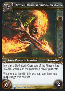 Merciless Gladiator's Crossbow of the Phoenix TCG Card.jpg