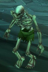 Image of Tortured Skeleton