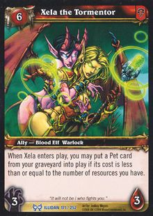 Xela the Tormentor TCG Card.jpg