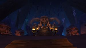 Hunters Hall Frostfire Ridge Wowpedia Your Wiki Guide To The