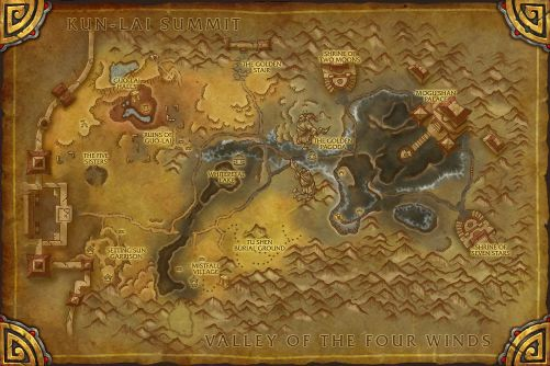 Vale of Eternal Blossoms map