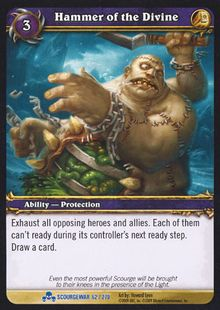 Hammer of the Divine TCG Card.jpg