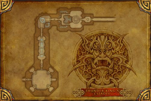 Troves of the Thunder King map