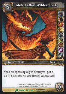 Mok'Nathal Wildercloak TCG Card.jpg