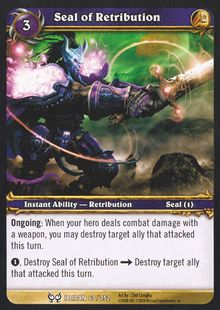 Seal of Retribution TCG Card.jpg