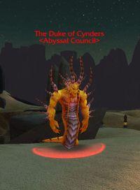 Image of Duke of Cynders
