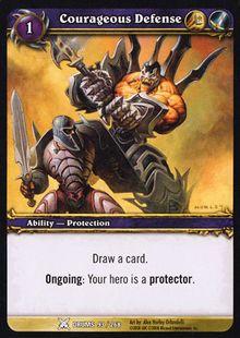 Courageous Defense TCG Card.jpg
