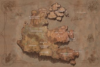 Outland - Wowpedia - Your wiki guide to the World of Warcraft