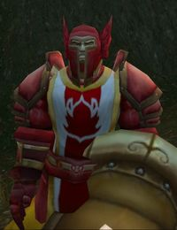 Image of Scarlet Gryphon Rider