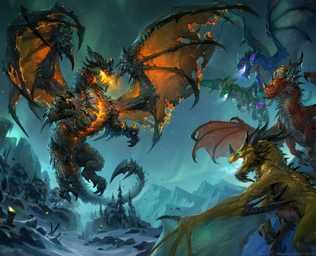 Dragon Wowpedia Your Wiki Guide To The World Of Warcraft