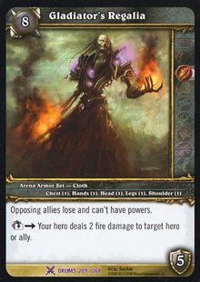 Gladiator's Regalia TCG Card.jpg