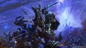 Warcraft III Reforged - Arthas and Archimonde.jpg