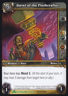 Gavel of the Fleshcrafter TCG Card.jpg