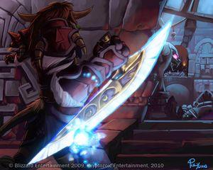 World of warcraft fist weapon