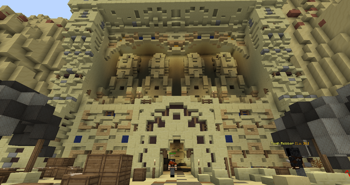 what if minecraft had mummies