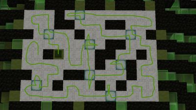 pattern to to get all the blocks green.