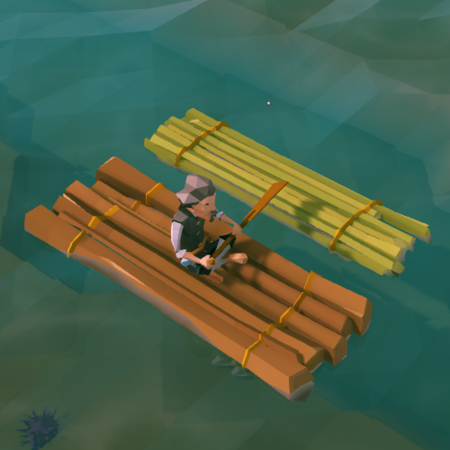 Wooden Raft - Ylands Wiki