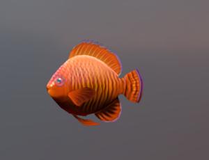 Lucky Bronze Fish