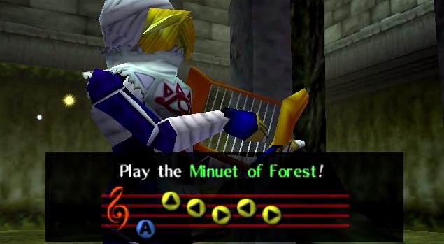 Minuet of Forest - Zelda Wiki