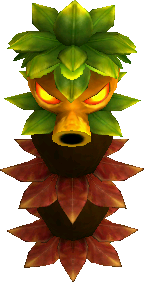 A Totem Deku, as seen in game