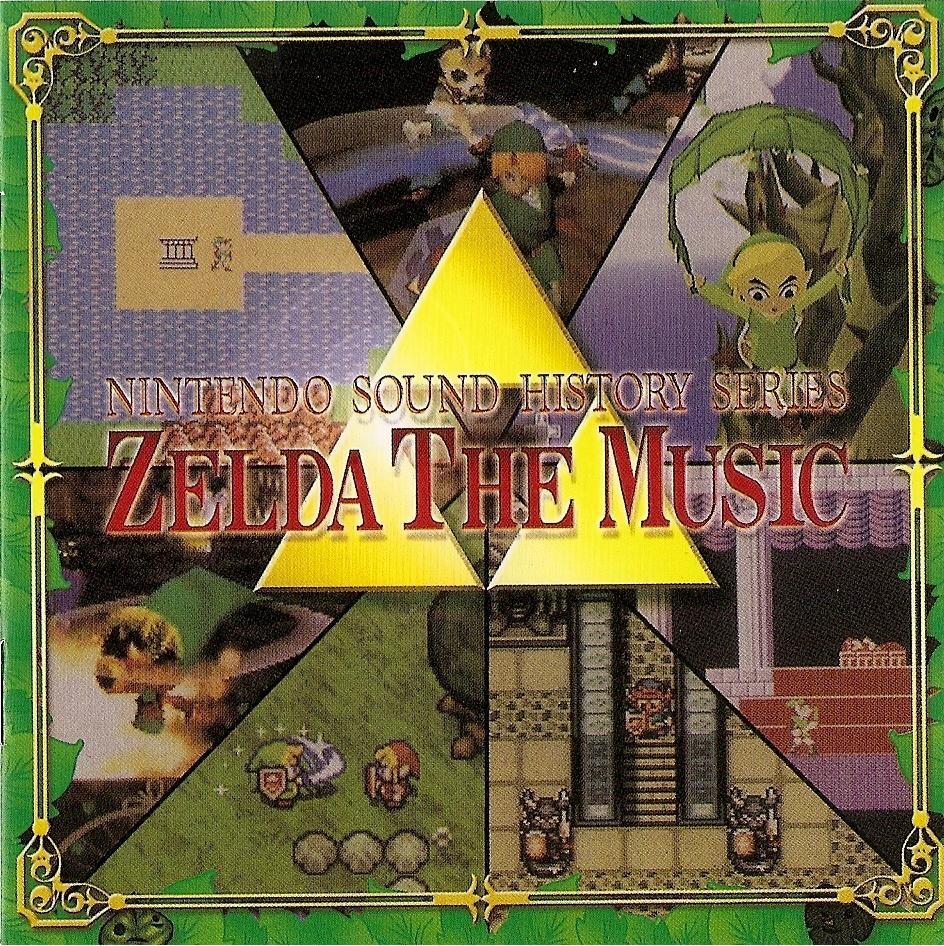 Nintendo Sound History Series: Zelda The Music - Zelda Wiki