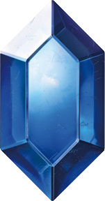 TLoZ Series Blue Rupee Artwork.png