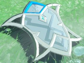BotW Silver Shield Model.png