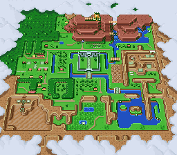 Link To The Past Map Places in A Link to the Past   Zelda Wiki