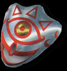 Legend of Zelda Majora/'s Mask Mask of Truth Glowing Eye