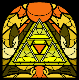 TWW Triforce Stained Glass.png