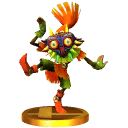 SSB3DS Skull Kid Trophy Model.png