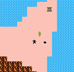 The Parapa Desert in The Adventure of Link
