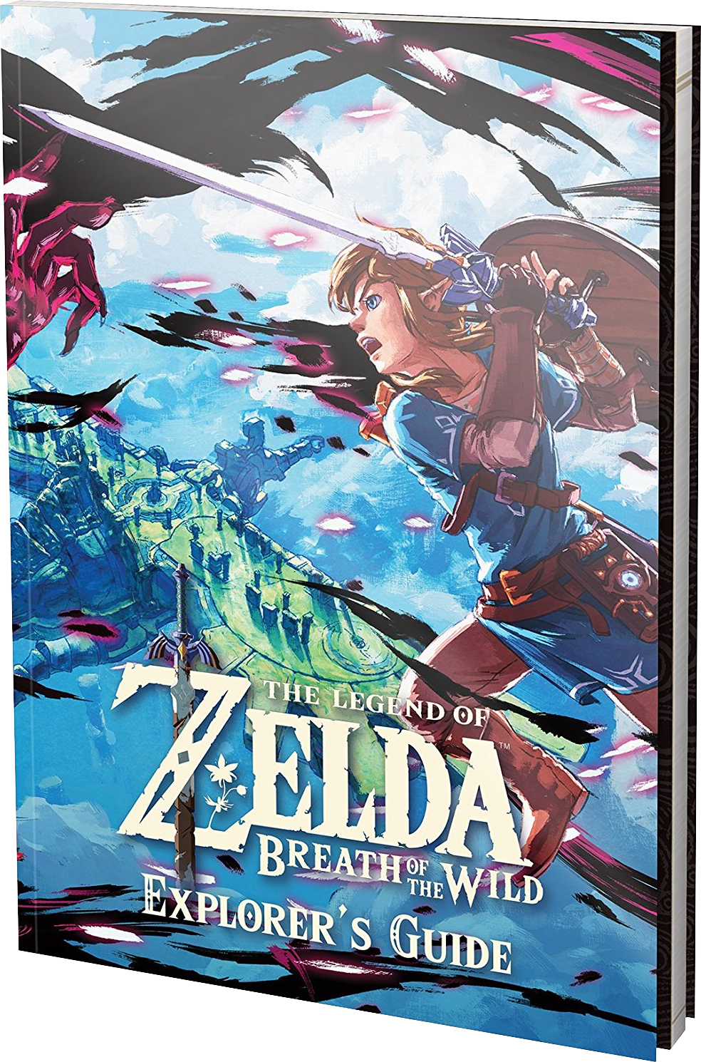 legend of zelda breath of the wild official guide pdf