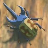 BotW Bladed Rhino Beetle Model.png