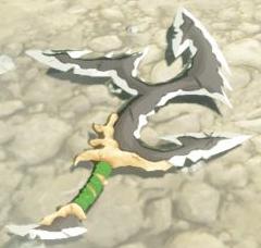 BotW Lizal Tri-Boomerang Model.png