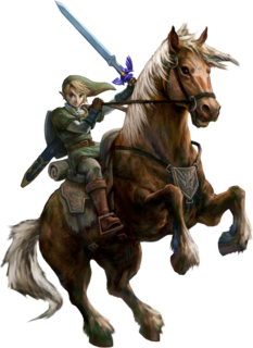 TPHD Link and Epona Artwork.png