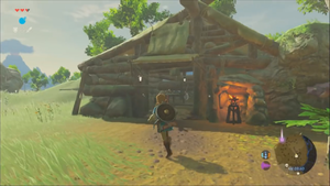 BotW Old Man's Cabin Exterior.png